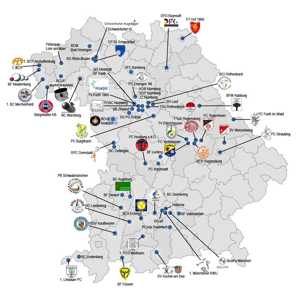 Karte Bayern.Landkarte Bpv